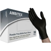 Ambitex Black Nitrile Powder Free Gloves N4201 Series