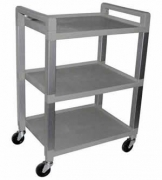 Ideal Poly 3 Shelf Utility Cart