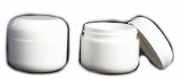 Jar and Twist Lid White - case / 12