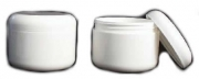 89 mm Jar and Twist Lid White 8 oz - case / 12