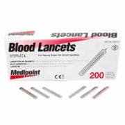 MediPoint Stainless Steel Sterile Lancets