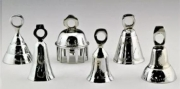 Bells in Chrome - 6 piece set