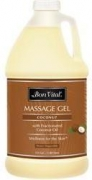 Bon Vital Coconut Massage Gel - 1/2 Gallon