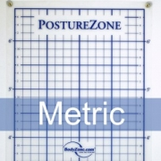 Posture Zone Posture Assessment Grid-Wall Mount (Metric)