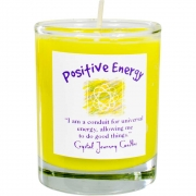 Soy Herbal Filled Votive Positive Energy