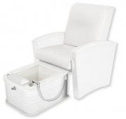 Mystia ™ Manicure / Pedicure Chair with Plumbed Footbath