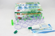 KN Complete 12 Piece Cupping set w/ Pump