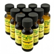 Body Relax Scent Oil - Green Olive