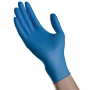 Blue NITRILE Select Powder-Free Exam Gloves N400 Series