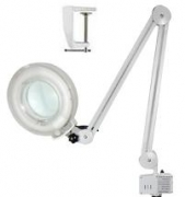 Clip-on Magnifying Lamp - beige color FS-206