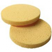 Amber Round Facial Sponges - Pack of 10