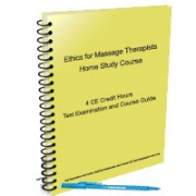 Ethics for Certified Massage Therapist - 4 CE Hours