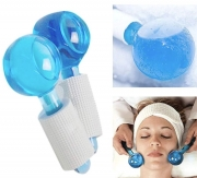 Blue Ice Facial Massage Globes
