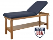 Oakworks Powerline Treatment Table - 30in. Backrest Top Firm Response
