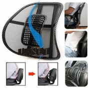 Cool Comfort Mesh Lumbar Sculptor Back Support Cushion