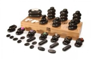 Hot Stone Set - 64 stones with Case