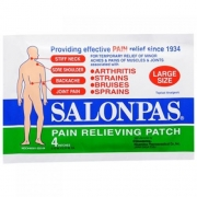 SALONPAS Large External Pain Relief Patches - Pack of 4