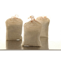 Amber Muslin Bags - Small