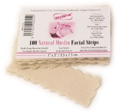 Depileve Natural Muslin Facial Strips