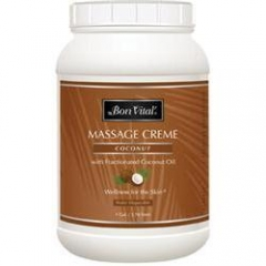 Bon Vital Coconut Massage Creme - 1 Gallon