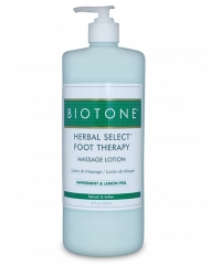 Biotone Herbal Select Foot Therapy Massage Lotion
