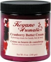 Keyano Aromatics Cranberry Butter Cream 8 oz.