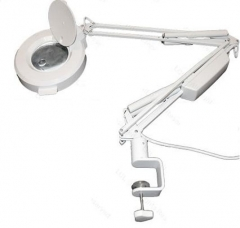 Round Magnifying Clamp-on Lamp 5x Magnification (16 Diopter)