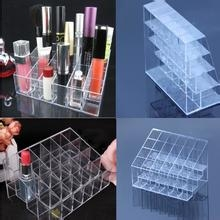 Clear 24 Slot Lipstick/Cosmetic Display Stand