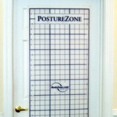 Posture Zone Posture Assessment Grid-Door Mount