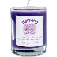 Soy Herbal Filled Votive Harmony