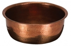 Copper Foot Bath Bowl