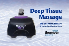 Thumper Continuing Education Course for Deep Tissue Massage