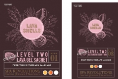Spa Revolutions Lava Shell Charges - Level 2