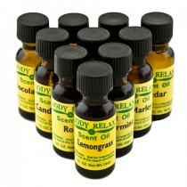 Body Relax Scent Oil - Frankincense