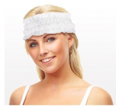 Disposable Stretch Ruffled Headband