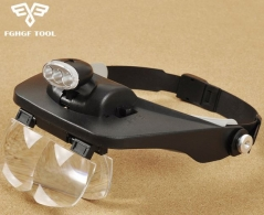 VUEMAX-PRO Head Magnifier w/ Light