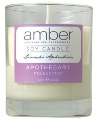 Amber Lavender Aphrodisia Soy Candle
