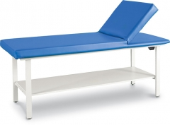 Winco 8570SH - Adjustable Back Treatment Table with Shelf