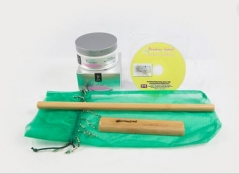 Bamboo Fusion Anti-Cellulite Self Massage Kit and DVD