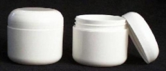 58-400 Jar and Twist Lid White - case / 12