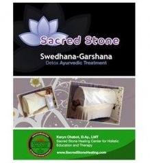 Sacred Stone Swedhana-Garshan Ayurvedic Exfol, Detox, Steam Manual