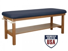Oakworks Powerline Flat Top Treatment Table - 30in. Firm Response
