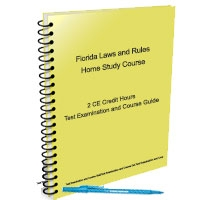 Florida Laws and Rules - 2 CE Hours