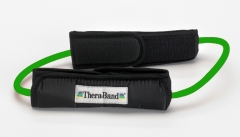 Thera-Band Resistance Tubing Loop with Padded Cuffs Intermediate -
