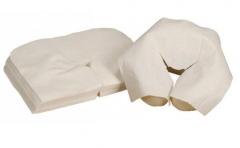 Disposable Drape Massage Headrest Cradle Covers - Very Soft