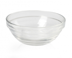 Amber Glass Bowls - 3 oz.