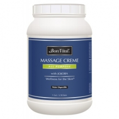 Bon Vital All Purpose Massage Creme Jar - 1 Gallon