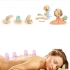 SPEQUIX 6PCS Silicone Massage Vacuum Cups Cupping Set
