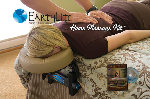 Home Massage Kit In Use