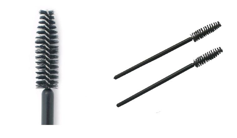 Mascara wand disposable tapered 100 pk mascara applicators for Disposable mascara wands